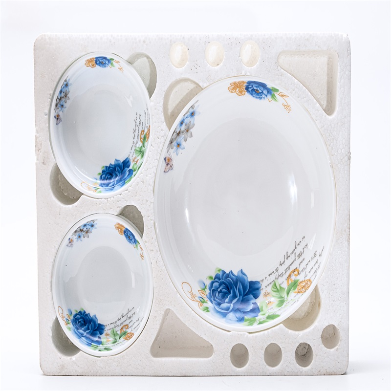 QW7A - opal glass glassware dinner set