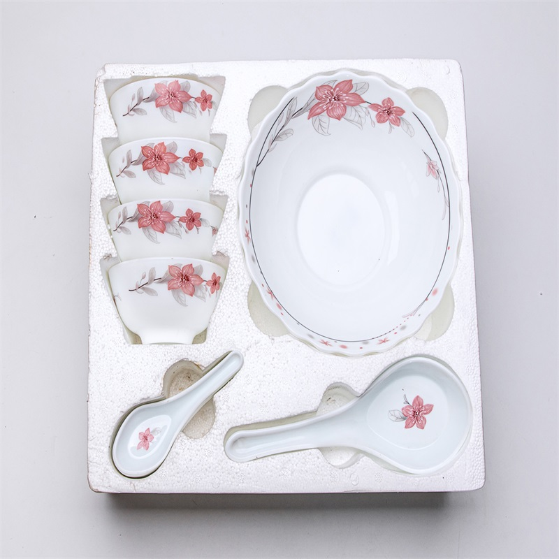 opal glass glassware dinner set -  10pcs bowl set